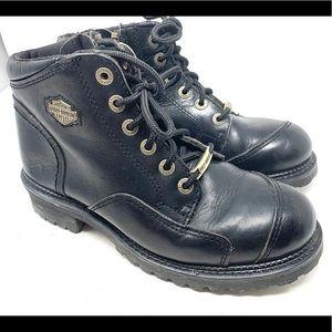 Harley Davidson Black Low Boot 1980